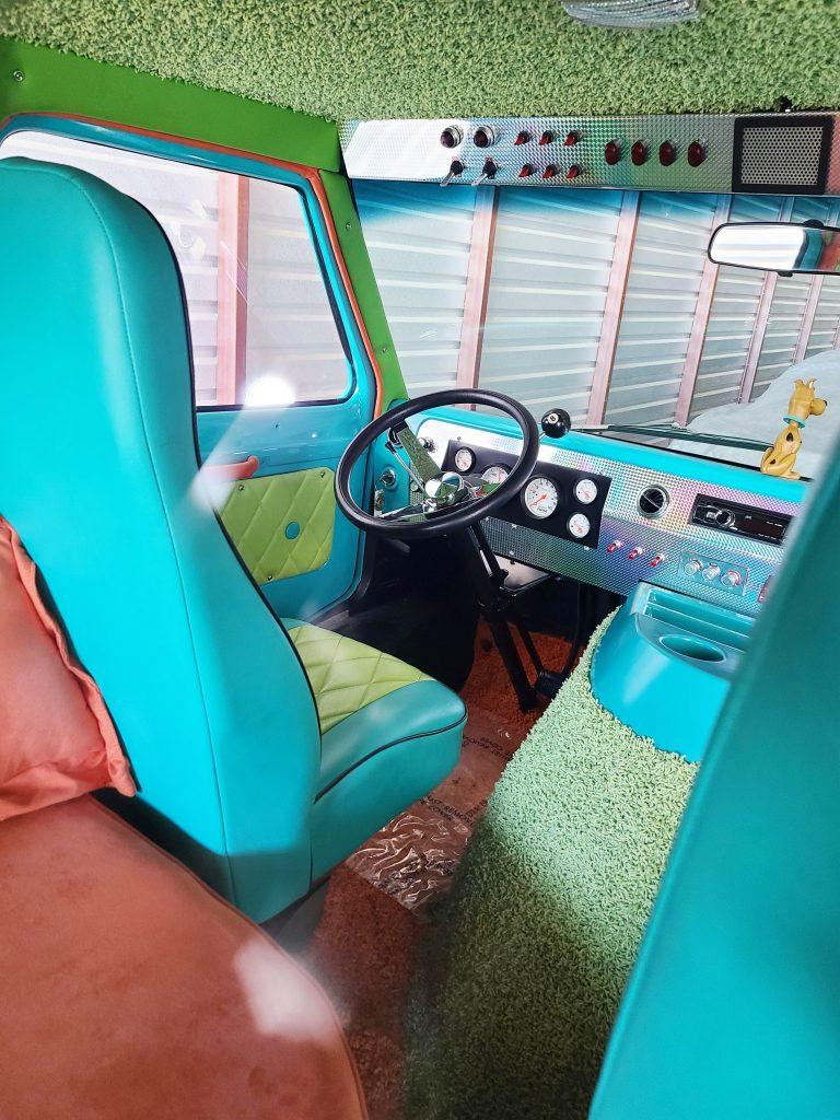 Texas Movie Cars - Scooby Doo Mystery Machine